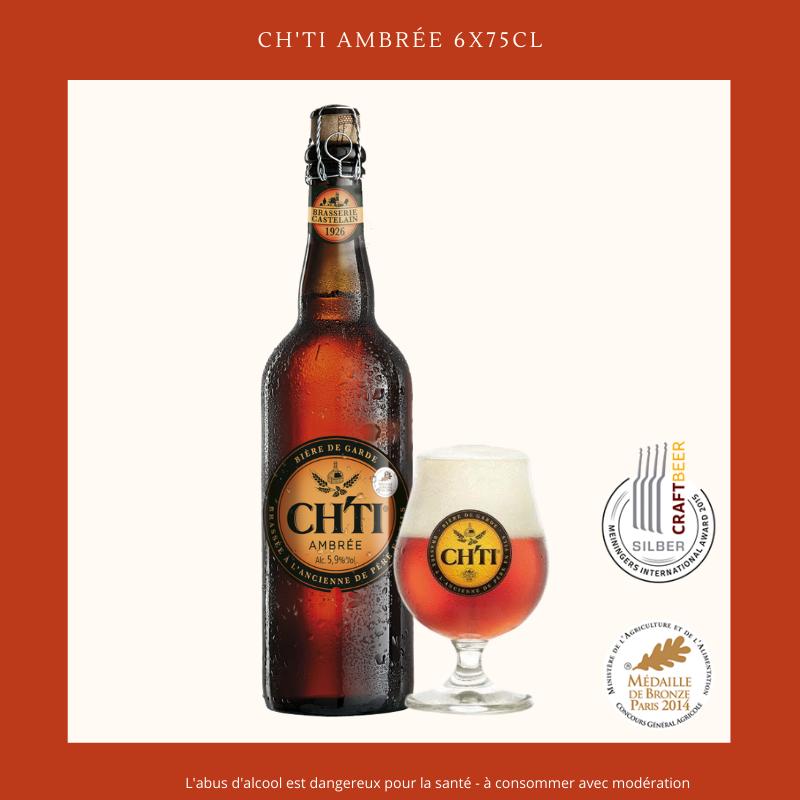 Ch'ti Boutique - Ch'ti Ambrée 75cl