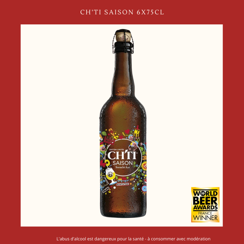 Ch'ti Boutique - Ch'ti Saison 75cl