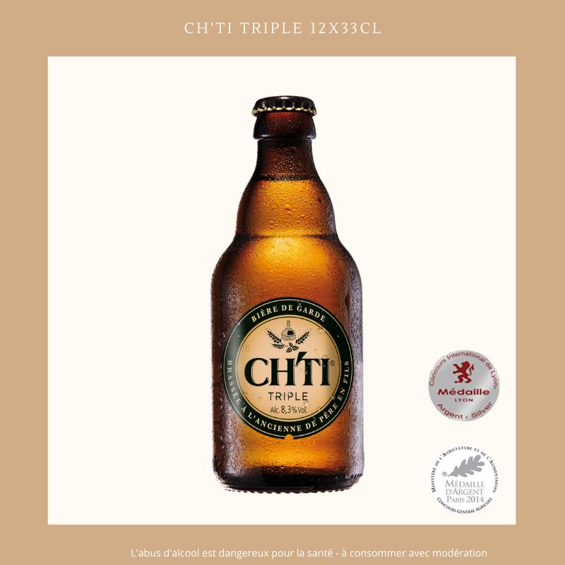 Ch'ti Boutique - Ch'ti Triple 33cl