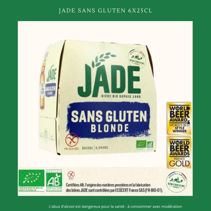 Ch'ti Boutique - JADE Sans Gluten 6x25cl