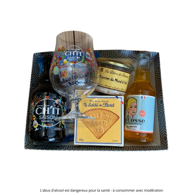 Ch'ti Boutique - panier gourmand Ch'ti Saison PT094