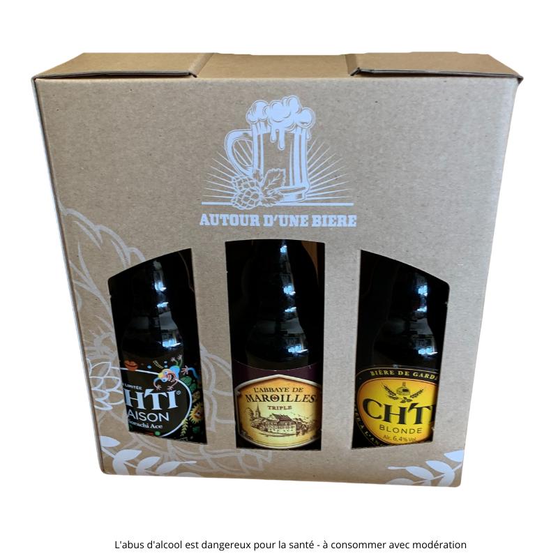 Ch'ti Boutique - panier craft 6 bières