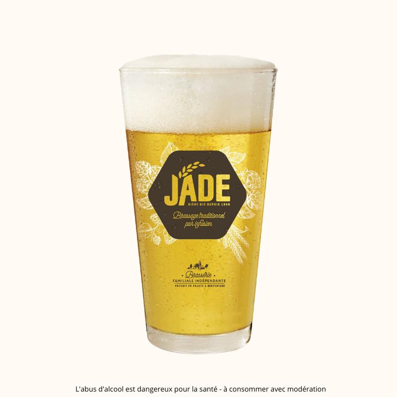 Verre à bière JADE