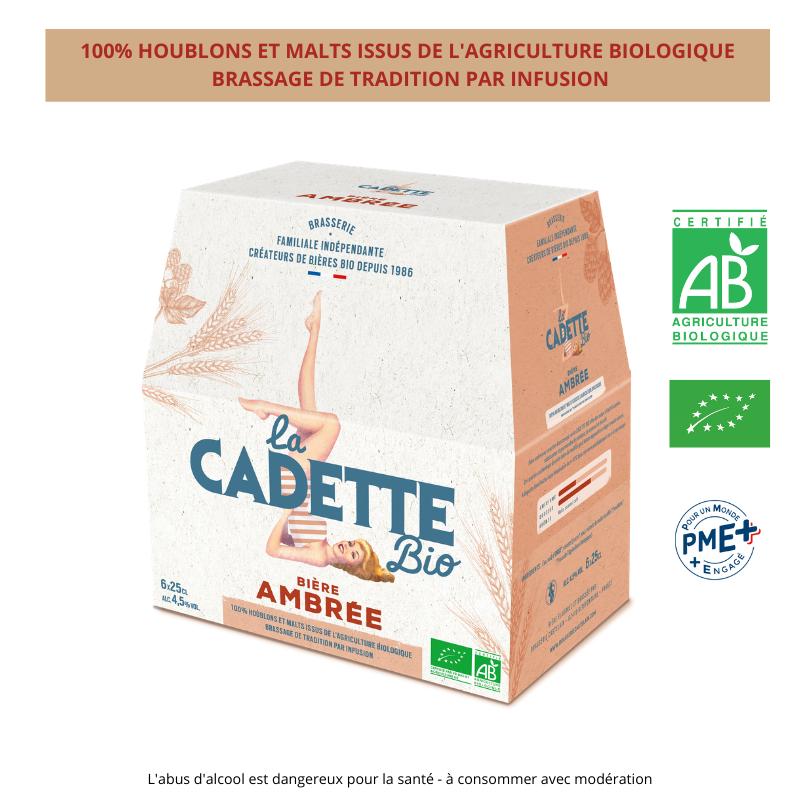 Cadette BIO AMBREE 6x25cl