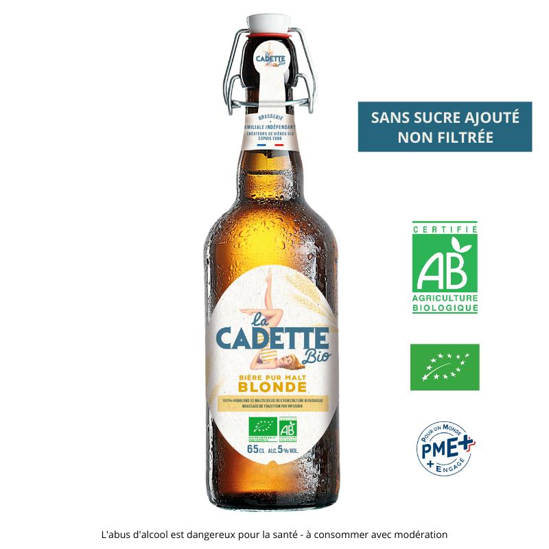 Cadette BIO Blonde 65cl