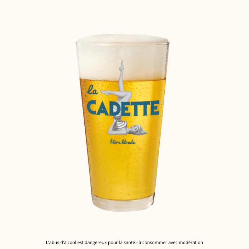 Verre à bière Cadette