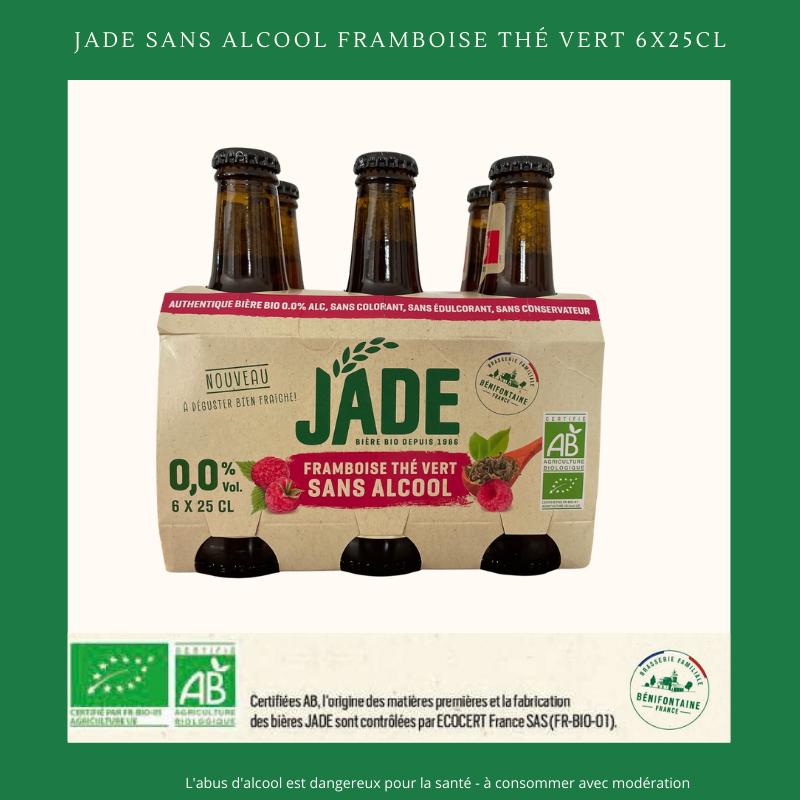 JADE Framboise Thé Vert