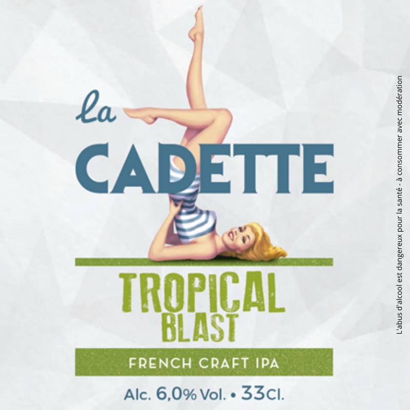Bière Cadette IPA Tropical Blast en Vrac