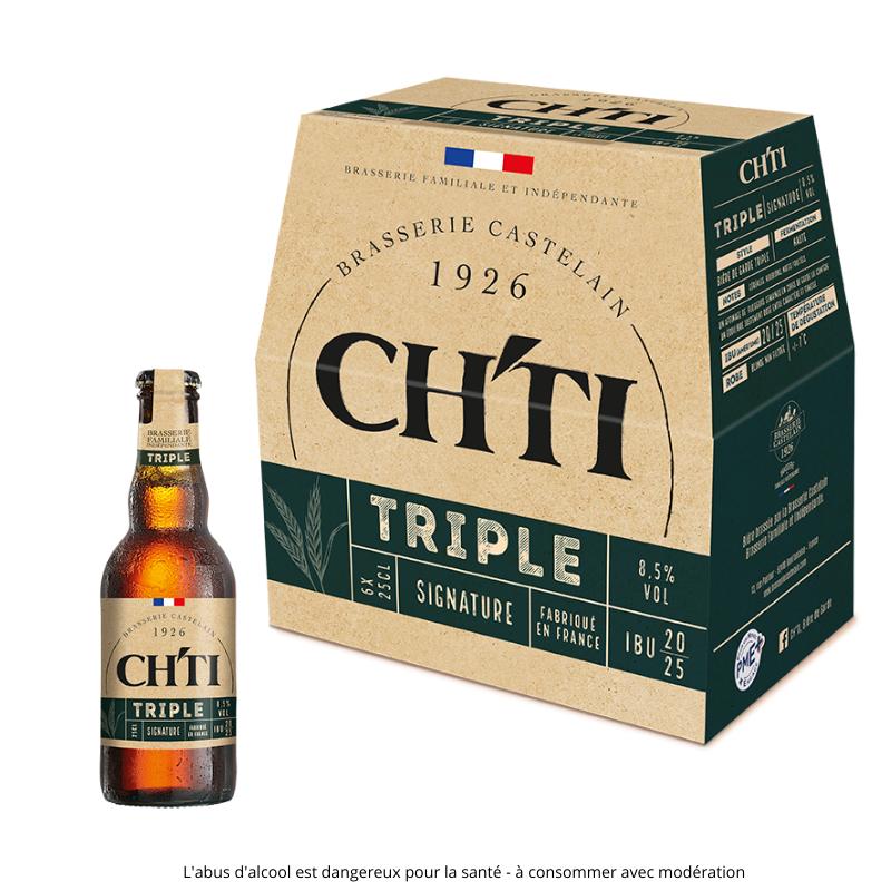 Ch'ti boutique - Ch'ti triple gamme Signature - 25cl